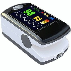 Contec Full-Colour OLED USB Finger Pulse Oximeter & HRM CMS-50E